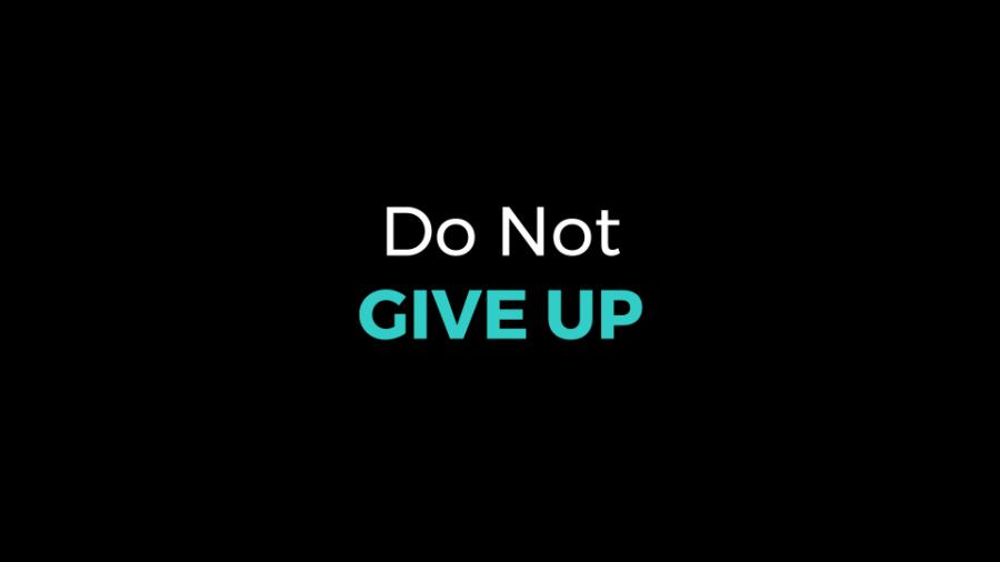Do Not Give Up – Duncan Muguku